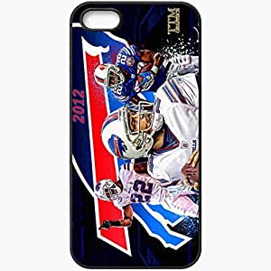 Personalized iPhone 5 5S Cell phone Case/Cover Skin 1297 buffalo bills Black