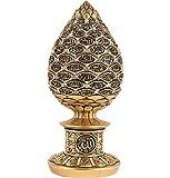 Islamic Table Decor Golden Egg Sculpture Figure Arabic 99 Names of Allah 1631