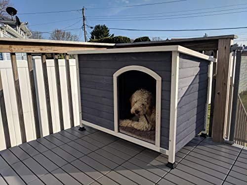 A4Pet Outdoor Wooden Dog House