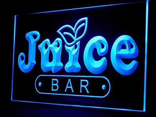 Juice Sign Bar Led - Juice Bar Shop Led Light Sign