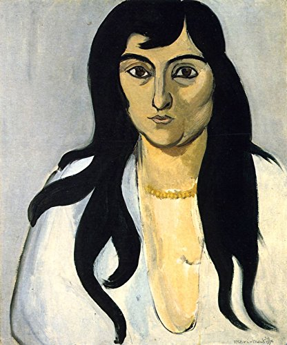 Henri Matisse - Woman with Amber Necklace Private Collection 30