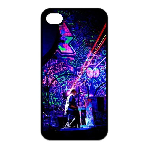 Fayruz- Coldplay Protective Hard TPU Rubber Cover Case for iPhone 4 / 4S Phone Cases A-i4K284