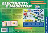 Thames & Kosmos Electricity & Magnetism Science Kit | 62 Safe Experiments Investigating Magnetic Fields & Forces for Ages 8+ | Assemble Electric Circuits with Easy Snap-Together Blocks