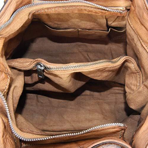 Donna Lavato Cuoio Tracolla Capo Vintage E Pelle Intreccio Zeta Borsa In Intrecciata Shoes Tinto wvqAO4Y