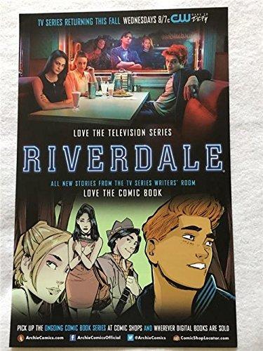 Riverdale Original Promo TV Poster Sdcc 2017 Cw Archie Comics