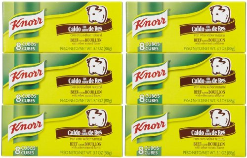 (Knorr Bouillon Cubes, Beef, 8 ct, 6)
