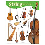 "Trend Enterprises String Instruments Learning Chart (1 Piece), 17"" x 22"""