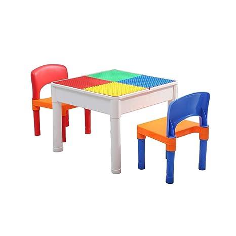 Amazon.com: Mesa de estudio multifuncional para niños, de 1 ...
