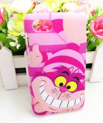 3D Cheshire Cat Shy Cute Lovely Pink Prison Break Hard Case Cover For Blackberry Q10
