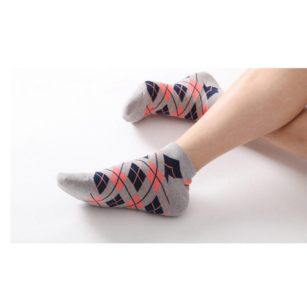 4 Set de Low Socks FEMME Chaussettes invisibles