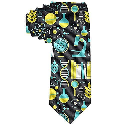 Corbata para hombre Ciencias Matemáticas Física Química Biología ...