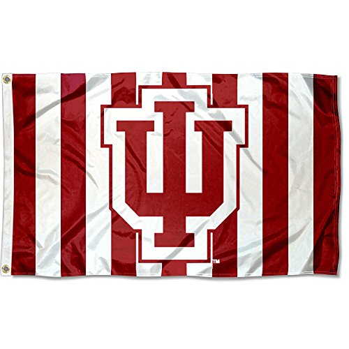 College Flags and Banners Co. Indiana Hoosiers Candy Stripe Pants Flag -
