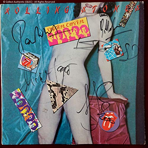 Autograph Signed Rolling Stones 'Under Cover' LP - COA #RS58745