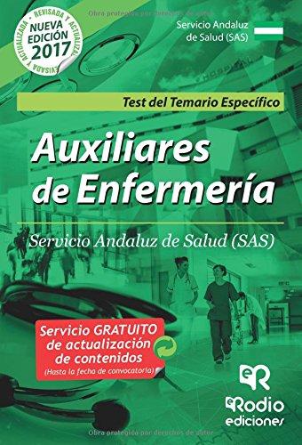 Auxiliares de Enfermeria. Servicio Andaluz de Salud (SAS). Test del Temario Especifico (Spanish Edition) [Varios Autores] (Tapa Blanda)