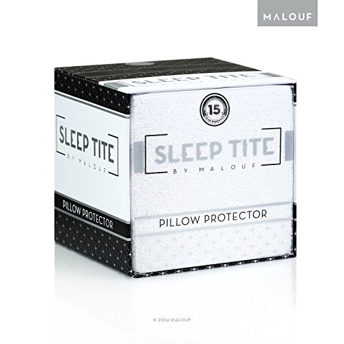 picture of Sleep Tite by Malouf® Hypoallergenic 100% Waterproof Pillow Protector- 15-Year Warranty - Set of 2 - Standard