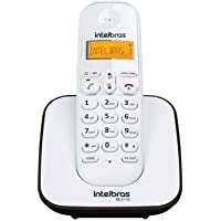 Telefone sem Fio Intelbras TS 3110 BRANCO E PRETO, Intelbras, TS 3110, Preto e branco