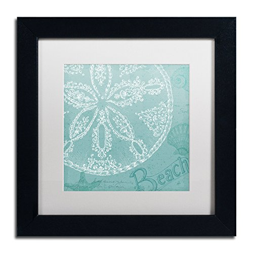 Trademark-Fine-Art-Aqua-Treasure-II-Artwork-Daphne-Brissonnet-in-White-Matte-and-Black-Frame