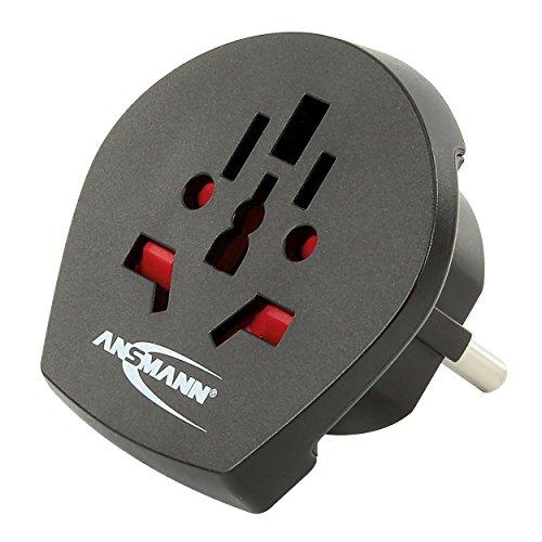 Ansmann 1250 0000 Travel Adapter World