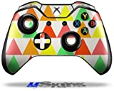 Triangles Citrus - Decal Style Skin fits Original Microsoft XBOX One Wireless Controller (CONTROLLER NOT INCLUDED)