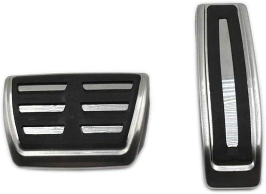 NUIOsdz Pedal Pad Accesorios para el Coche Pegatinas de dise/ño Porsche Cayenne//VW Touareg Freno Acelerador Reposapi/és Reposapi/és para Audi Q7