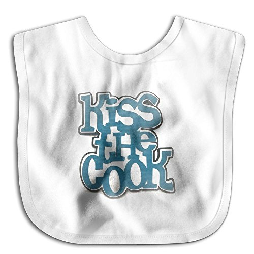 Price comparison product image Kiss The Cook Soft Drool Bibs Bandana Baby Bibs For Girls Hook Infant Bibs Toddler