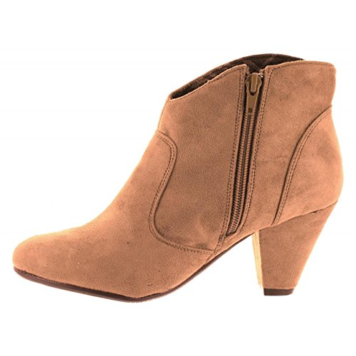 Botines de Mujer MTNG 54846 ANTELINA TAUPE