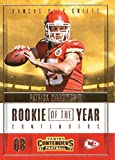 #7: 2017 Panini Contenders Rookie of the Year Contenders #3 Patrick Mahomes II Kansas City Chiefs Football Card