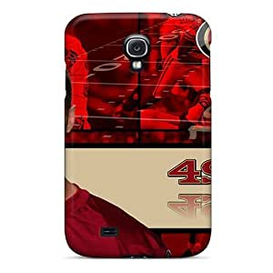 Scratch Resistant Hard Cell-phone Case For Samsung Galaxy S4 (wYY2538Ucuc) Provide Private Custom Colorful San Francisco 49ers Skin