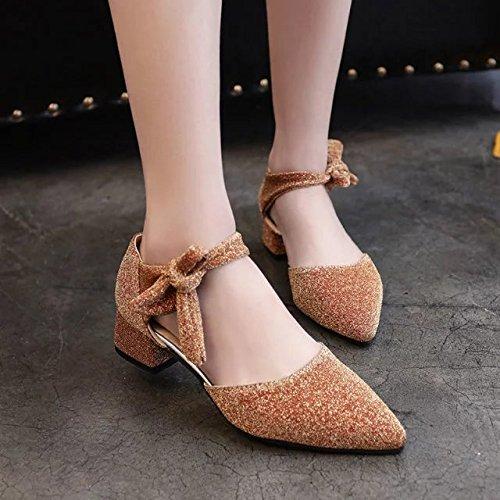 In grezzo Marea signora 37 e oro con yalanshop scarpe e sandali le SdzqWZw5