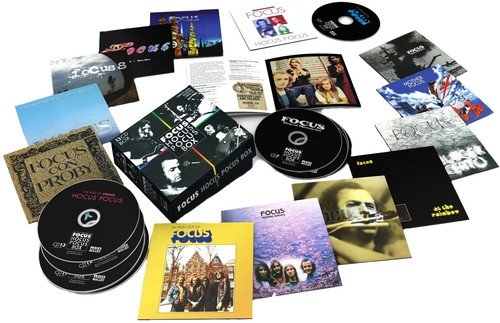 CD : Focus - Hocus Pocus Box (Holland - Import, 13 Disc)