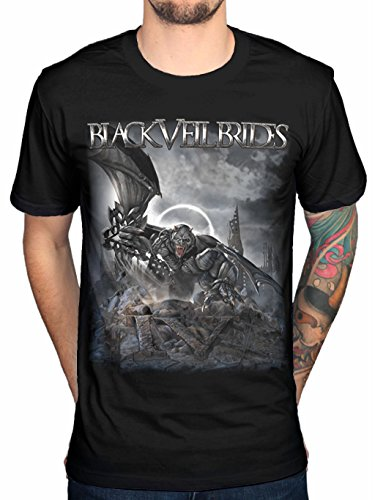 Black Veil Brides IV Mens Black Cotton Top T-shirt Tee (X-Large)