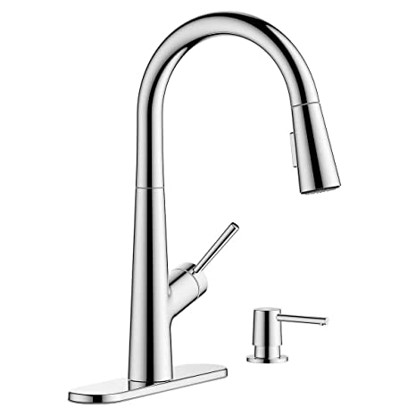 Hansgrohe Lacuna Pull Down Kitchen Faucet Steel Optik Amazon Com