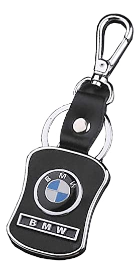 automotiva BMW negro estilo con Logo de la marca llavero ...