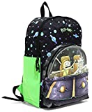 RICK AND MORTY Spaceship School Backpack Book Bag