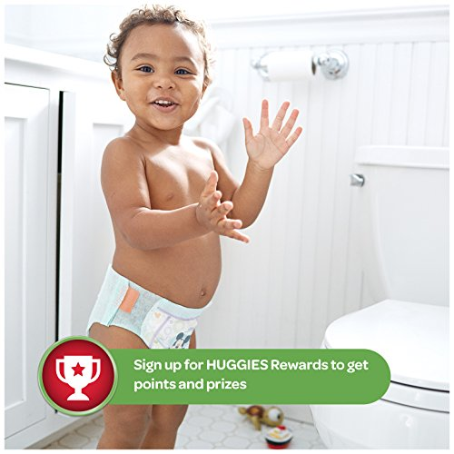 Large Product Image of HUGGIES Little Movers Slip On Diaper Pants For Babies Over 35 lbs, Easy Pull On Style With Removal Tab, Size 6 (42 Count)
