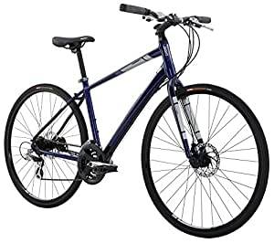"Diamondback Bicycles Insight 2 Complete Hybrid Bike, 16""/Small, Blue"
