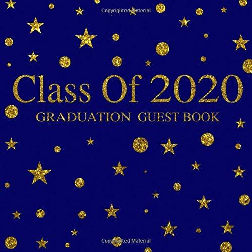 Class Of 2020 Graduation Date.Class Of 2020 Graduation Guest Book Bbd Gift Designs