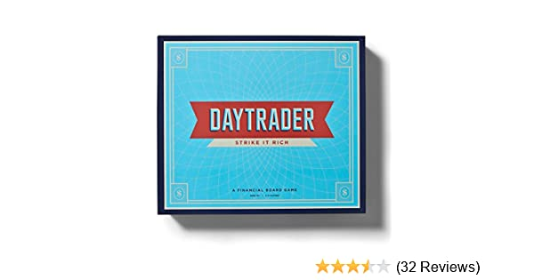 Amazon.com: Daytrader: A Financial Board Game: Toys & Games
