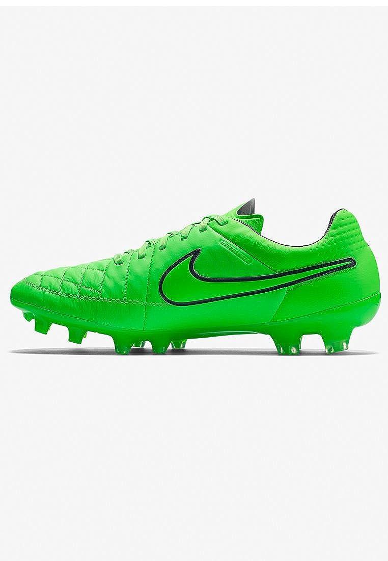Nike Tiempo Legend V FG de fútbol de la grapa (huelga verde): Amazon.es: Zapatos y complementos