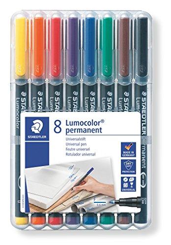 Lumocolor Permanent Marker Fine Set (Lumocolor Blue Markers)