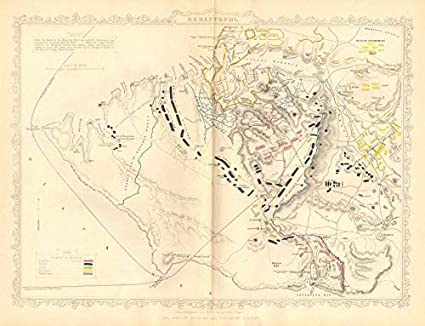 Amazon.com: Crimean WAR. Siege of Sevastopol/Sebastopol Plan ... on ukraine map, iran map, crimean war, charge of the light brigade, baltic sea, livadia palace, yugoslavia map, crimean peninsula map, sea of azov, black sea, bubonic plague, asia minor map, caucasus map, belarus map, yalta conference, tajikistan map, iberian peninsula map, soviet union map, russia map, lithuania map, golden horde, ural mountains, romania map, korea map, bithynia map, cuba map, england map, crimean tatars, slovenia map, europe map,