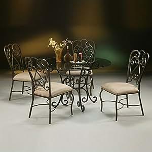 Muebles Pastel Magnolia al aire libre Casual Dining Set