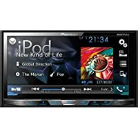 PIONEER AVH-X4700BS 7 Double-DIN DVD Receiver with Motorized Display, Bluetooth(R), Siri(R) Eyes Free, SiriusXM(R) Ready, Android(TM) Music Support & Pandora(R) Internet Radio