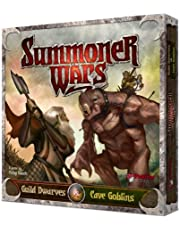 Summoner Wars Guild Dwarves vs Cave GoblinsDice Game