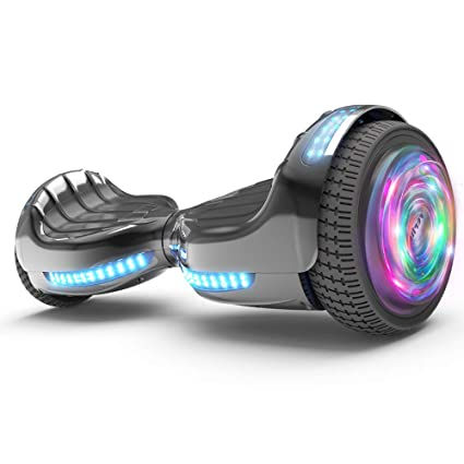 a3c568623 Hoverboard UL 2272 Certified Flash Wheel 6.5 quot  Bluetooth Speaker with LED  Light Self Balancing Wheel