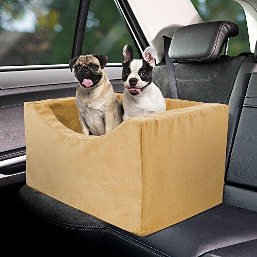 """Co-pilot Dog Booster Car Seat (Camel, 18""""x21""""x13.5"""")"""