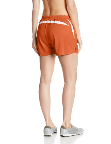 S Asics Shorts Orange Interval Women' white g55TCq