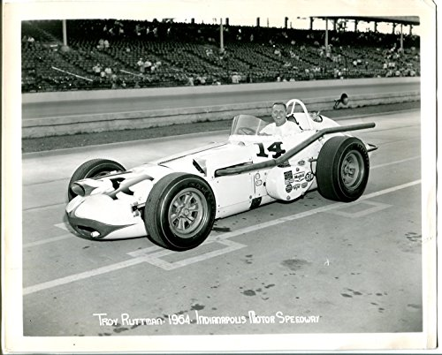 Indianapolis Motor Speedway Official 8 X 10 Indy 500 Photo-1964-T Ruttman-#14-G