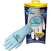 SwiPets Pet Hair Cleaning Glove, Blue