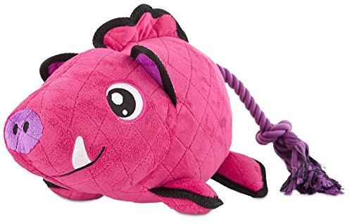 (Leaps & Bounds Playtime Pal Tough Boar Dog Toy, Large)